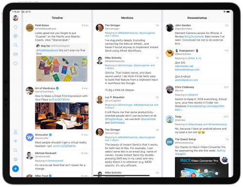 Fenix: the Full-Screened, Full-Featured iPad Twitter Client