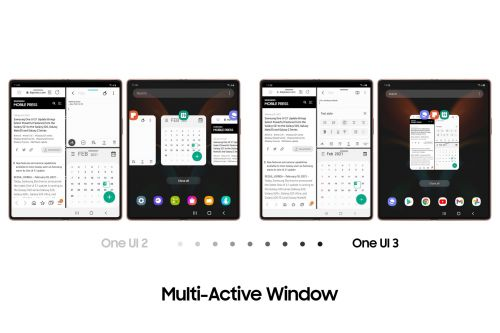 Samsung brings some unique features to the Galaxy Z Fold 2 with One UI 3.1