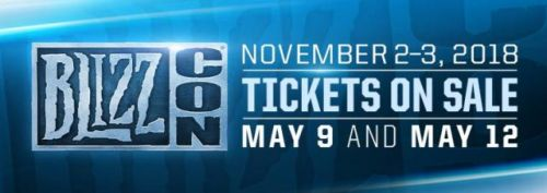 BlizzCon 2018 Set For 2-3 November, Tickets On Sale Next Month