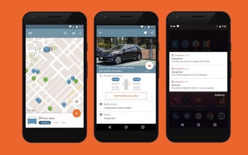 ChargePoint EV charger app now ready for Android Auto