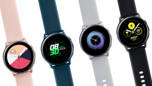 Samsung makes Galaxy Watch Active and Galaxy Fit wearables official