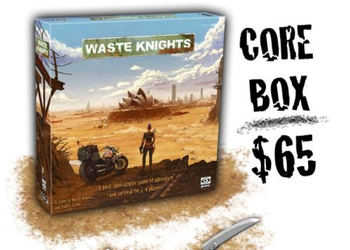 Waste Knights post-apocalyptic board game passes $150,000