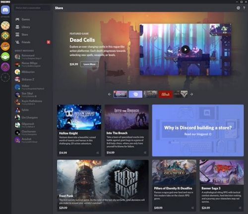 Discord's Game Store Will Offer Developers 90% Revenue Share