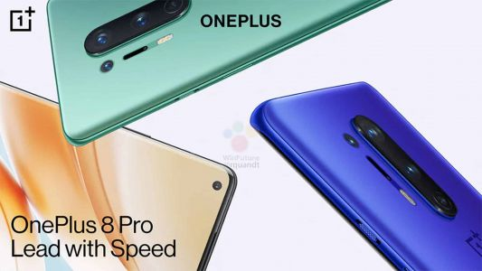 OnePlus 8 Series Marketing Materials Appear With More Device Images