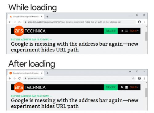 Google Chrome ends its war on address bar URLs-for now, at least