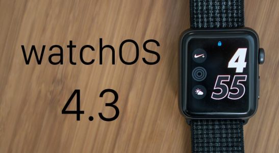 Apple Releases watchOS 4.3 With Portrait Nightstand Mode and iPhone Music Controls