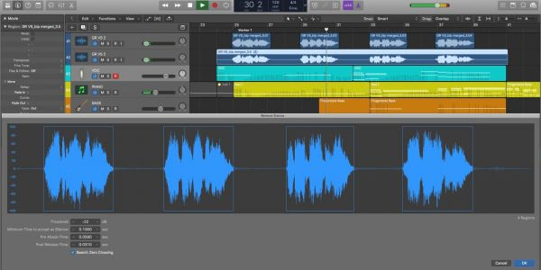 Logic Pros: How to automatically remove unwanted noise from audio recordings