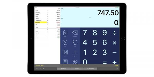 Digits 3 tape calculator for iPhone and iPad brings new design, Split View, more