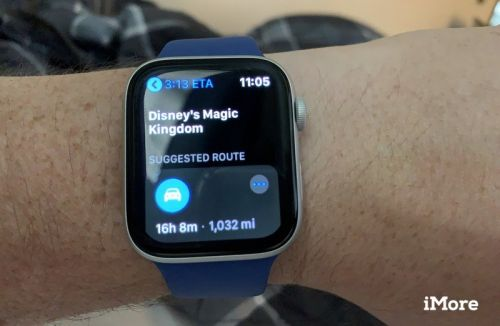 Checking maps and directions on your Apple Watch