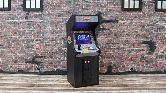 Street Fighter 2 Mini Arcade Cab Announced By New Wave Toys