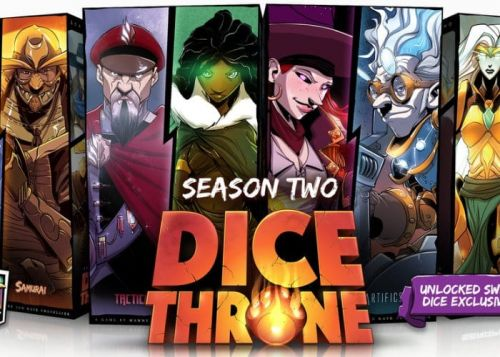 Dice Throne Season Two Passes £266,000 In Funding