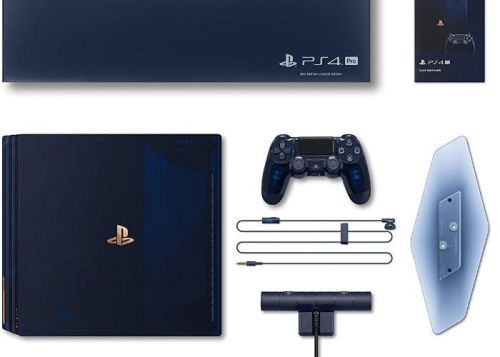 PlayStation 4 Pro 500 Million Limited Edition Hands On Unboxing