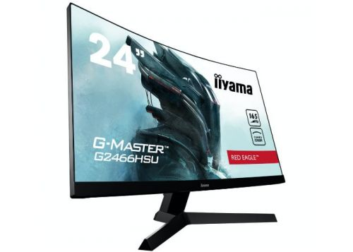 New iiyama G-Master Curved Red Eagle monitors unveiled