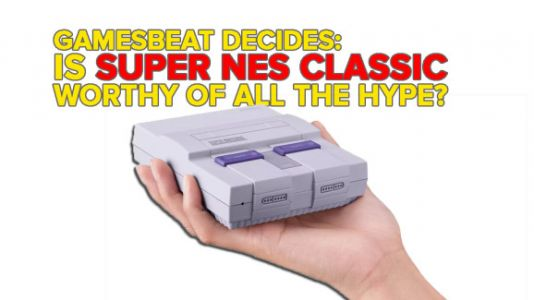 Is the Super NES Classic worthy of the hype? GamesBeat Decides