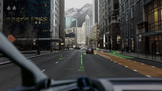 WayRay Shows Off On-Windshield Navigation & More - CES 2018