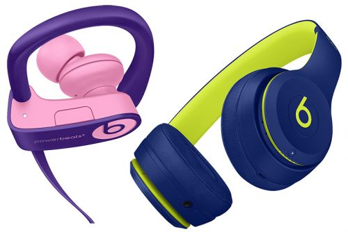 Beats Solo3 and Powerbeats3 Wireless Headphones Get New Pop Collection of Colors