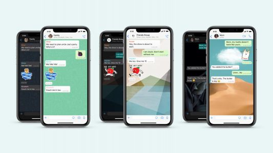 WhatsApp iOS update brings custom wallpapers for individual chats, sticker search, more