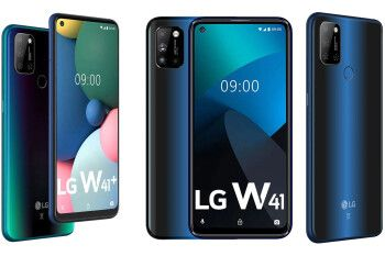 Three LG W41 phones are official with large screens and big batteries at a fair price