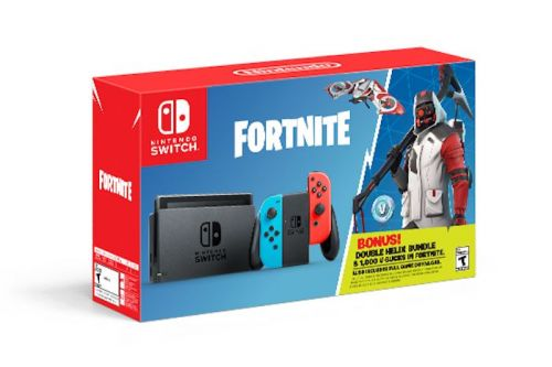 Fortnite Switch bundle arrives October 5th with special perks
