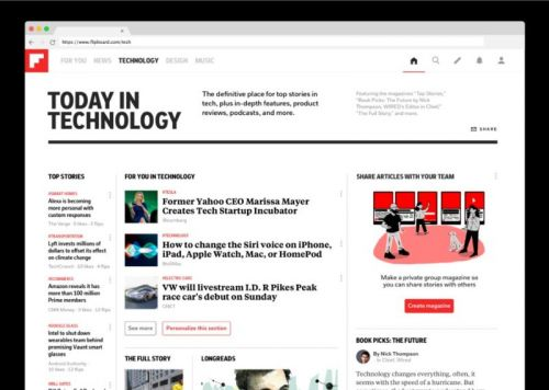 Flipboard Expands Tech News Offerings & Sharing On Android