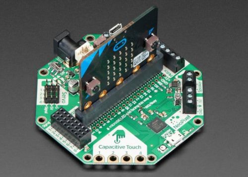 CRICKIT For Micro:bit Lets You Control Motors, Servos, Solenoids And More