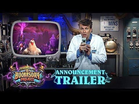Hearthstone: Boomsday Project Coming in August