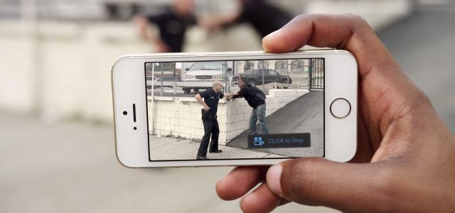 Don't Record Police with Your Regular Camera App - Use the ACLU's to Make Sure It Gets Uploaded Right Away