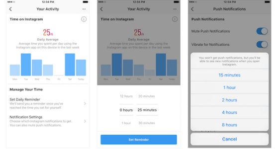 Instagram Begins Rolling Out Activity Dashboard