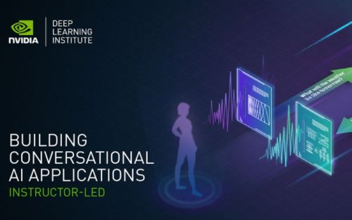 Learn how to code conversational AI applications with NVIDIA DLI