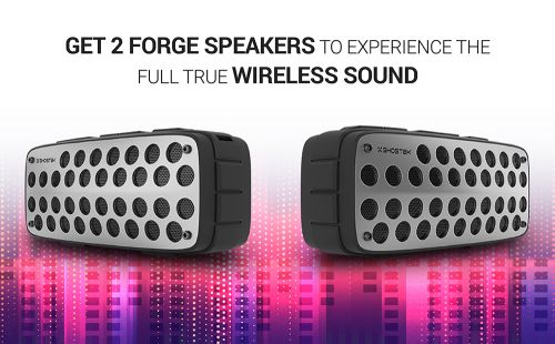 Ghostek's FORGE Bluetooth Speaker Is Powerful & Its Price Will Surprise You