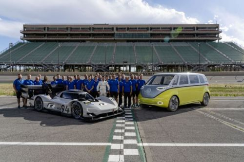 VW's insane I.D. R electric car is headed to the Nürbugring this summer