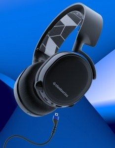 SteelSeries Arctis 3 BT gaming cans - Bluetooth, wired connection together