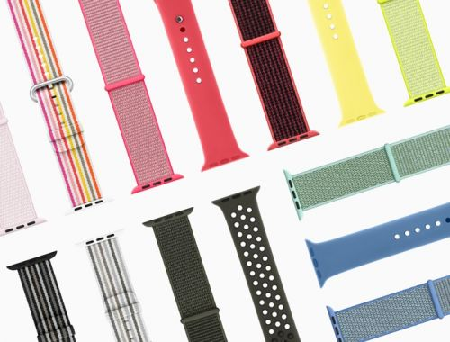 Apple Watch Bands Spring Collection Announced
