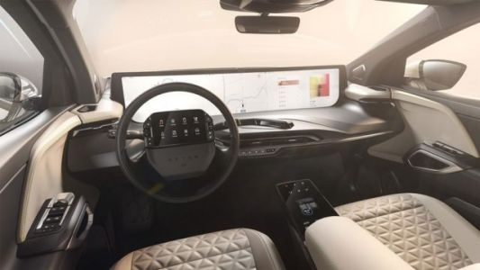 Byton's M-Byte Electric Crossover Boasts A 48 Inch Dashboard Display