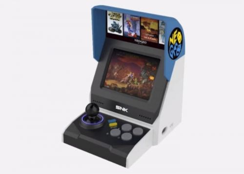 Neo Geo Mini Arcade Console Preorders Open In The UK