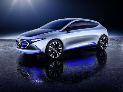 Mercedes Benz Concept EQA Electric Vehicle Shown Off On Video