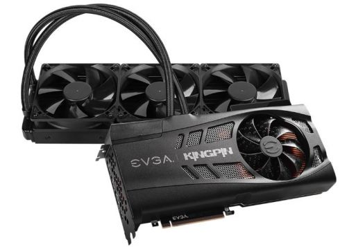 EVGA RTX 3090 KINGPIN Hybrid graphics card $2,000