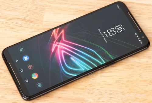 Asus' ROG Phone II features a 120Hz display, a new SoC, and a giant battery
