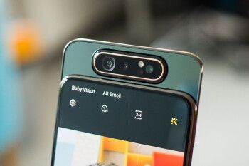 Samsung developing Galaxy A82 5G - could it have a rotating camera?