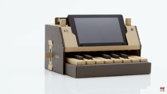 Nintendo Labo combines the Switch with cardboard for new interactive experiences