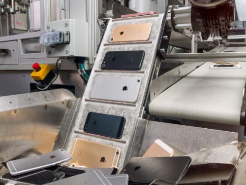 Apple introduces iPhone-shredding Daisy robot ahead of environmental report