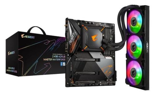 GIGABYTE's New Z490 Aorus Master WaterForce Combo with Bundled 360mm AIO