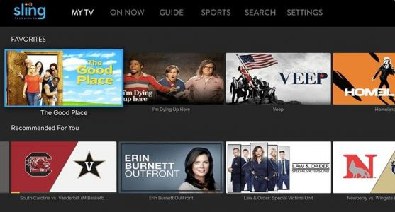 Sling TV now recommends shows to watch on Apple TV