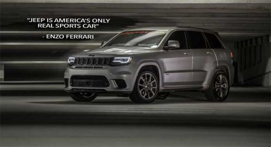 Hennessey's Insane Jeep Trackhawk HPE1200 Costs $179,000
