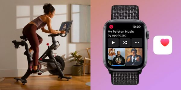 Using Peloton bikes and treadmills with Apple Watch, Music, and Health