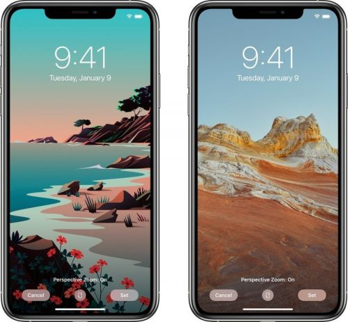 IOS 14.2 Beta 4 adds new photorealistic and drawn wallpapers for the iPhone