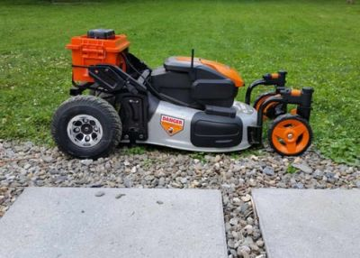 TigerBot Remote Controlled Lawn Mower