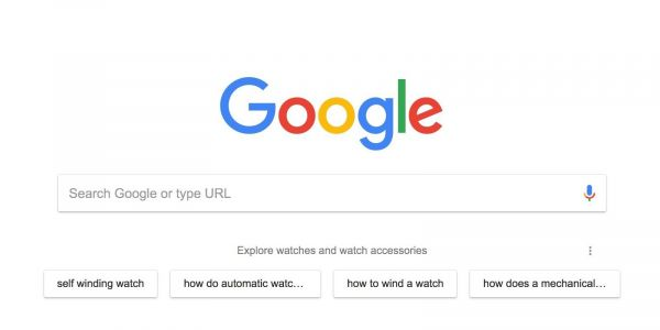 Google testing suggestions based on search history in Chrome's New Tab page
