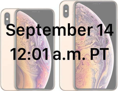 When You Can Pre-Order iPhone XS, XS Max and Apple Watch Series 4 in Every Time Zone