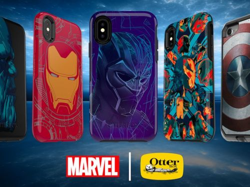 Put your favorite Avenger on your phone with OtterBox's Marvel cases